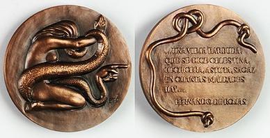 Medalla de la Fábrica Nacional de Moneda y Timbre, de Manuel Prieto (1957)