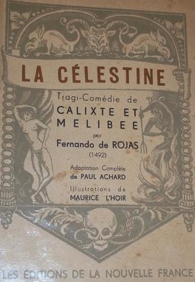 Portada de la edición de Éditions de la Nouvelle France, 1943