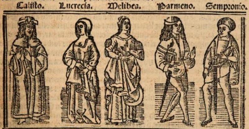 Imagen primera del acto XII de la edición de Burgos (1531)