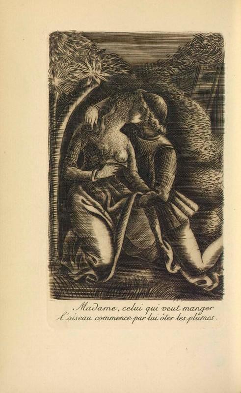 Ilustración del acto XIX de París, 1922