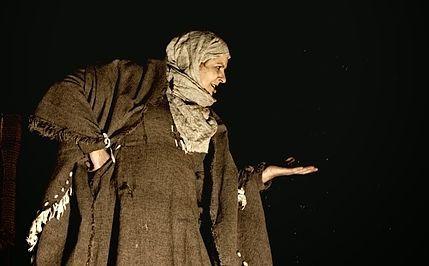 Representación del Camaleón Teatro, Madrid, 2009