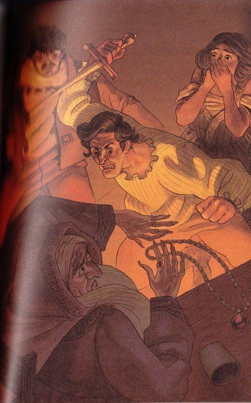 Ilustración del Acto XII de la edición de Barcelona, 2011