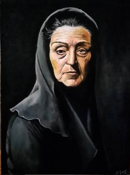 Retrato de La Celestina, de Luengo (2016)