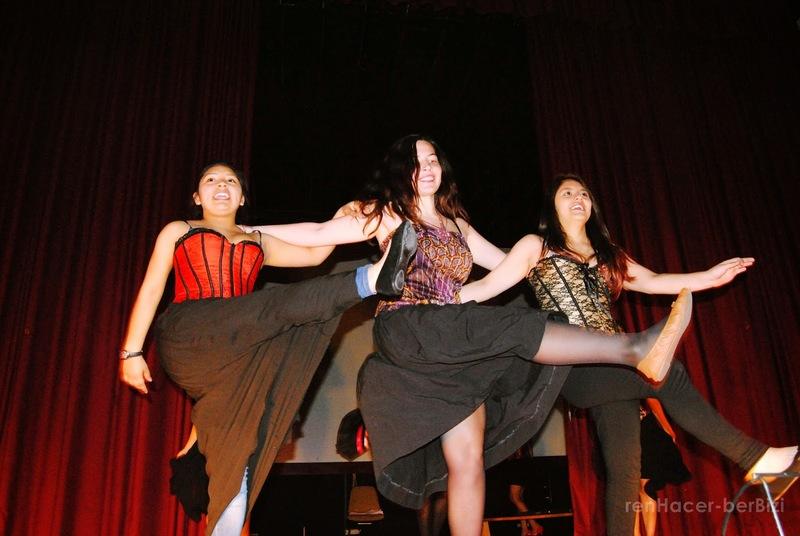 Representación del Auditorio de Berriozar,Pamplona, 2014-2015