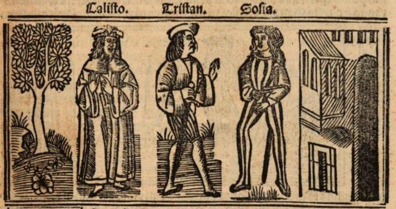 Imagen primera del acto XIII de la edición de Burgos (1531)