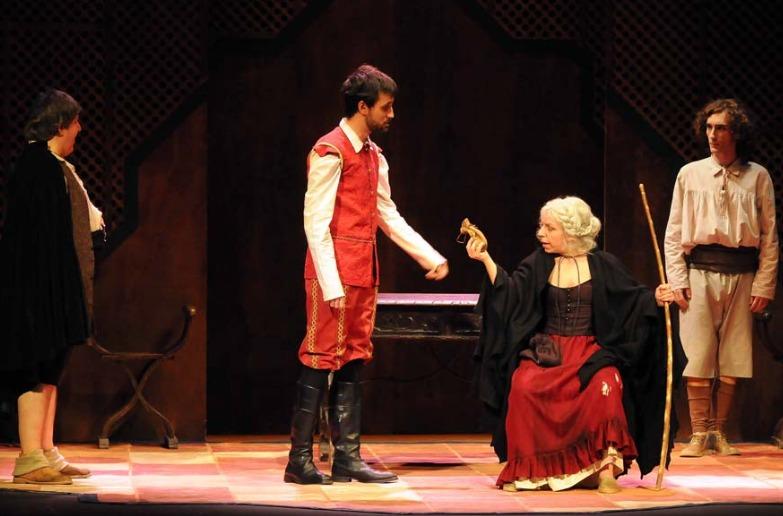 Representación del Teatro Juan Bravo, Segovia, 2008