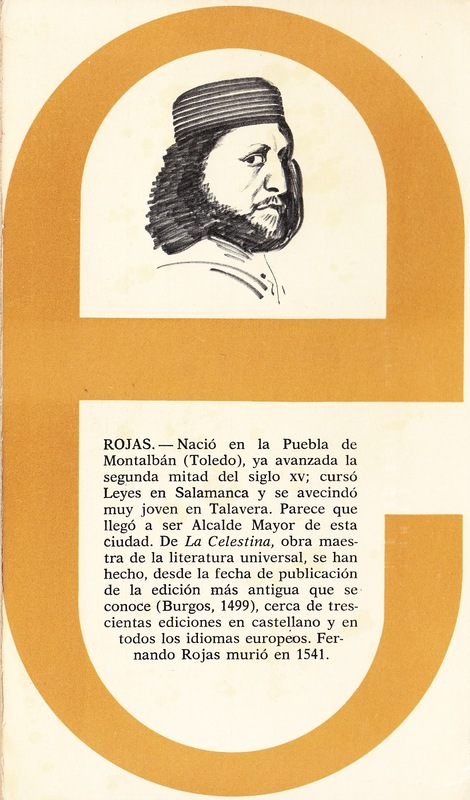 Portada de la edición de Edime: Madrid, 1964.