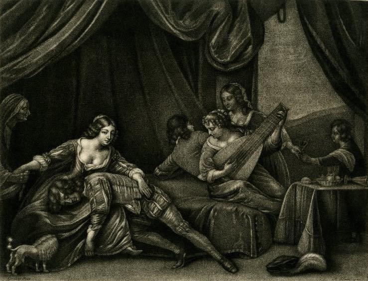 Grabado hecho por Blooteling (1675 c.)