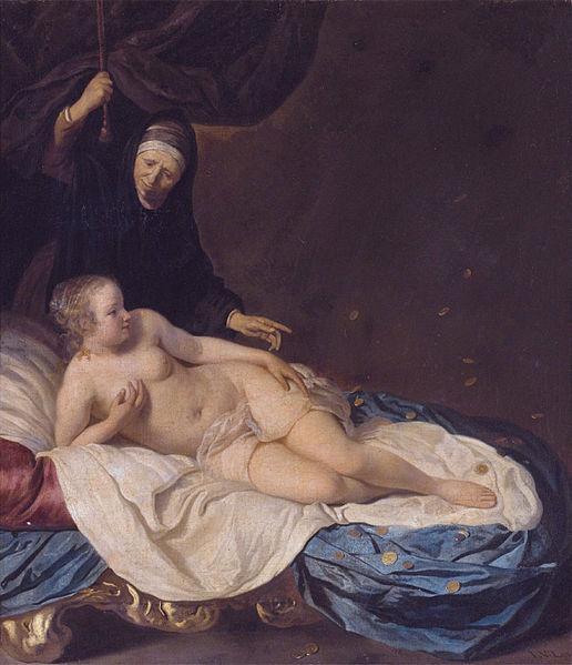 Danae, de Van Loo (1650)