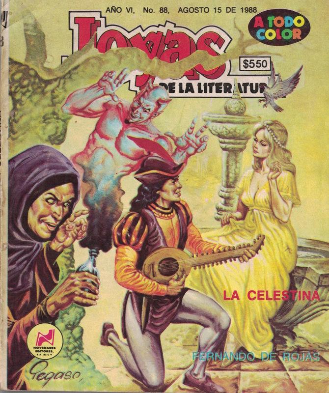 Cómic de La Celestina (México, 1988)