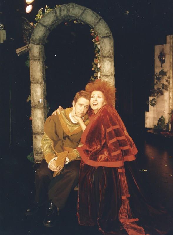 Celestina, a Tragic Music  Comedy, de Bond y Fiske, Nueva York (1999) '--Celestina y Pármeno