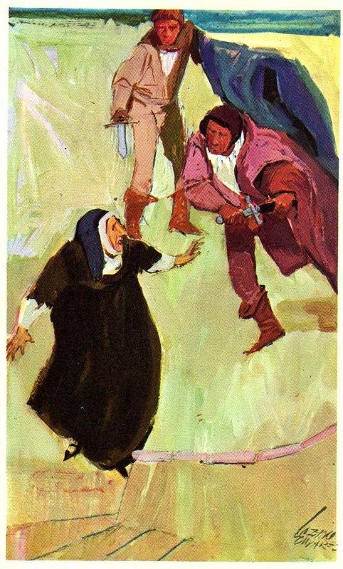 Ilustración segunda del acto XII de la edición de Barcelona (1972)