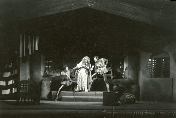 Representación del Teatro Wojska Polskiego, Łódź, Polonia, de Schiller (1947)