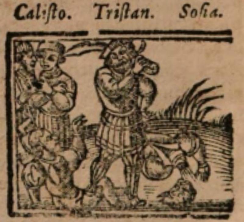Imagen del acto XIII de la edición de Salamanca (1590)
