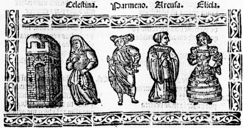 Ilustración del acto VII de la edición de Salamanca (1540)