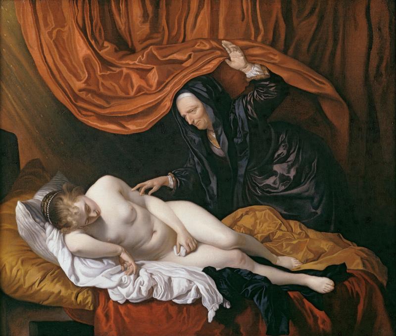 Danae, de Van Loo (1655)