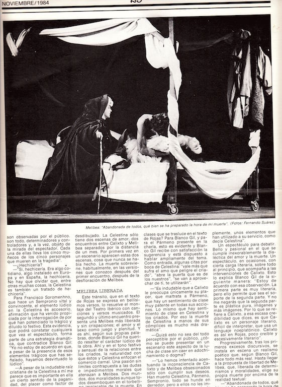 Representación de Almagro, de Blanco Gil (1984)