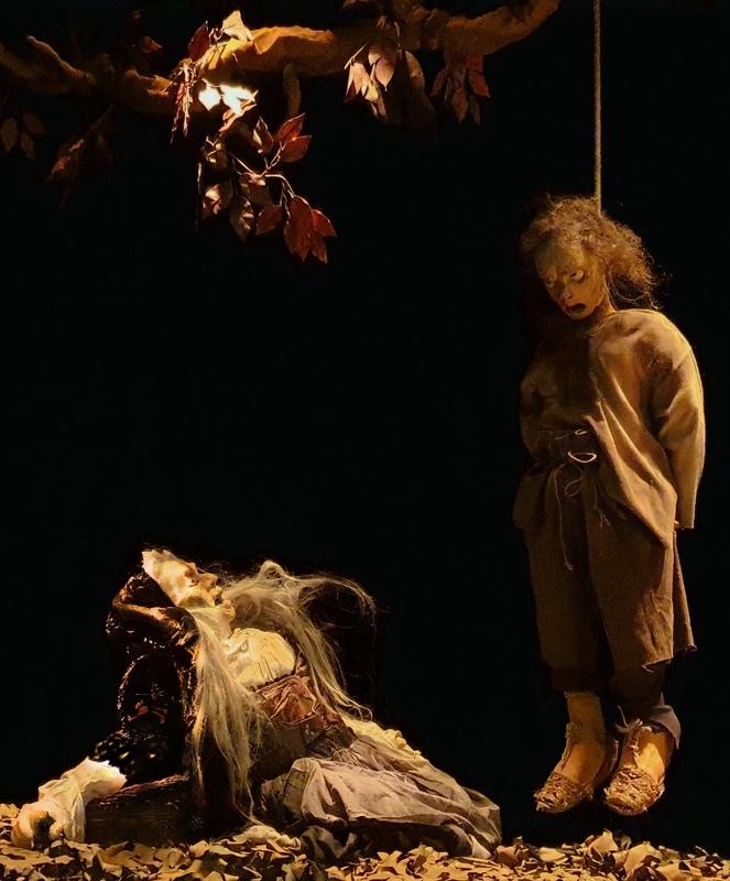 Representación del Teatro Corsario, Cáceres, de Peña, 2021