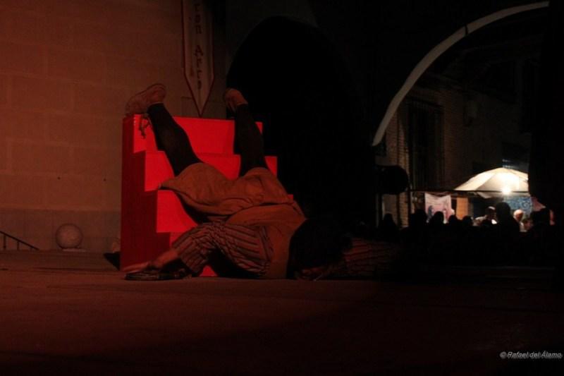 Representación del Festival Celestina, la Puebla de Montalbán, 2011