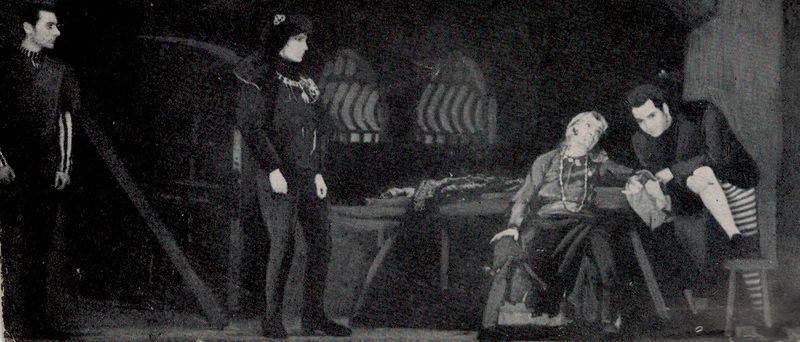 Representación del Théâtre Montparnasse-Gaston Baty, París, de Meyer (1942)