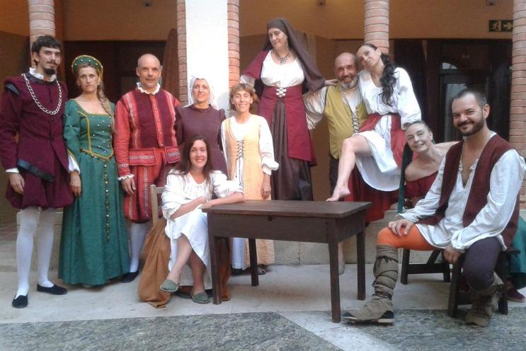 Representación de la XX Fiesta del Renacimiento, Tortosa, de LoTAT (2015)