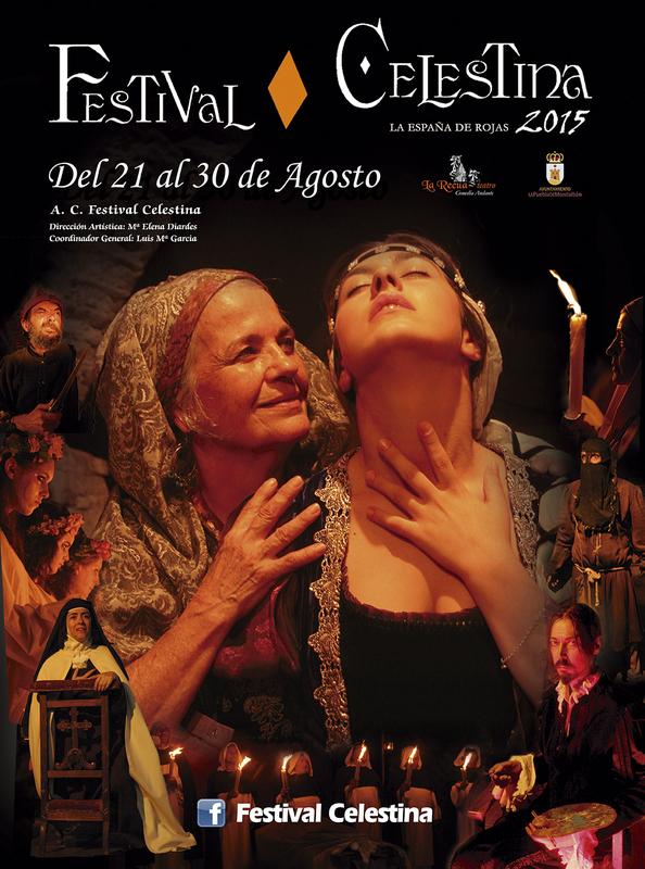 Cartel del festival de La Celestina de la Puebla de Montalbán, 2015