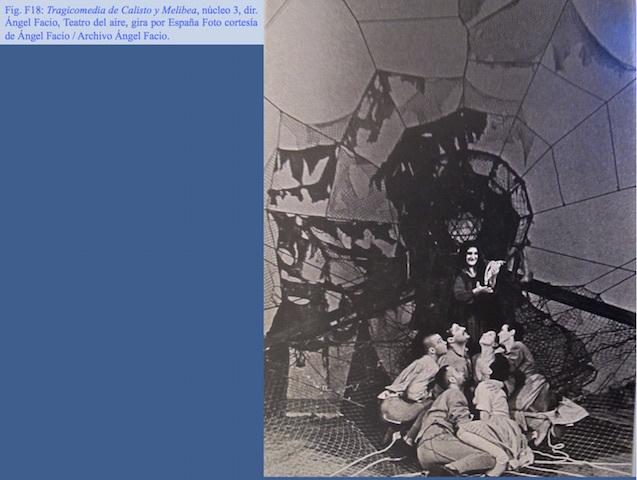 Representación del Teatro del Aire, gira por España (1979-1984)