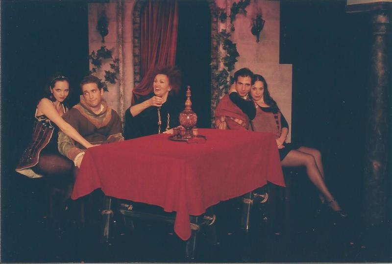 Celestina, a Tragic Music Comedy, de Bond, Nueva York (1999), Banquete en casa de Melibea