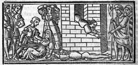 Grabado del acto XII (bis) de la edición de Sevilla (1523)