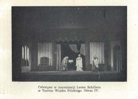 Representación del Teatr Klasyczny, Warszawa, Polonia, de Chojnacka (1958)