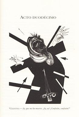 Ilustración del acto duodécimo de la edición de Buenos Aires, 2002.