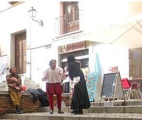 Representación de las Rutas Literarias, Toledo, 2011