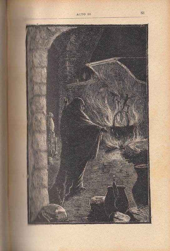 Ilustración segunda del acto III de la edición de Barcelona (1883)