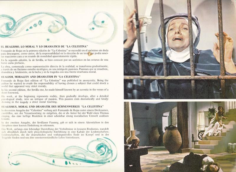 Fotocromo 12 de la película La Celestina de Ardavín