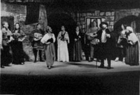 Representación El refajo de Celestina, de Blanco Amor (1986)