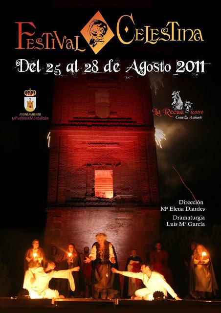 Cartel del festival de La Celestina de la Puebla de Montalbán , 2011