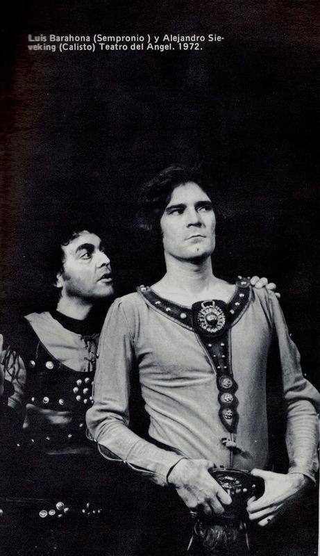 Representación del Teatro del Ángel, Santiago, de Meza (1972)