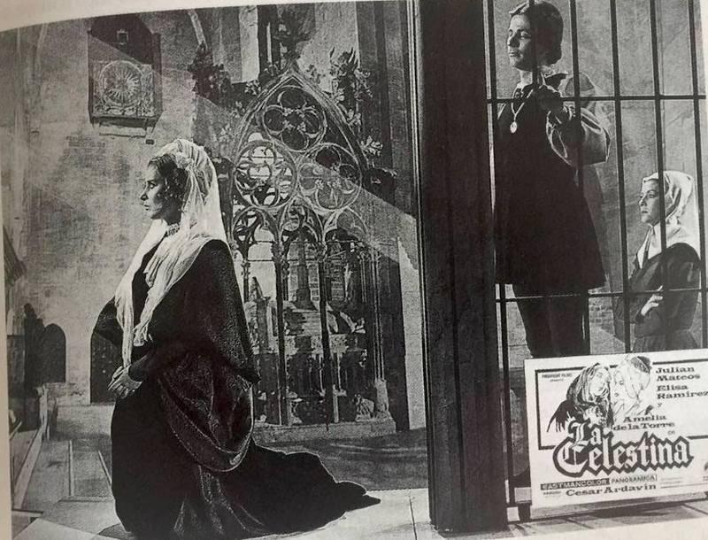 Fotocromo 18 de la película LaCelestina,de Ardavín