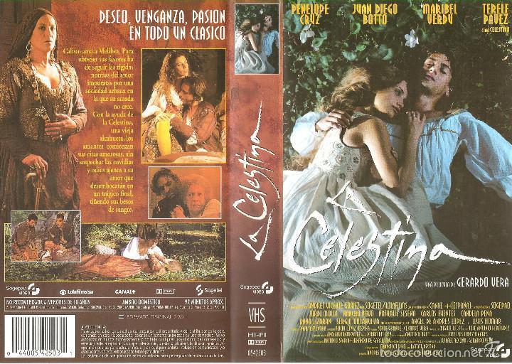 Carátula de VHS de la película de Gerardo Vera, 1996