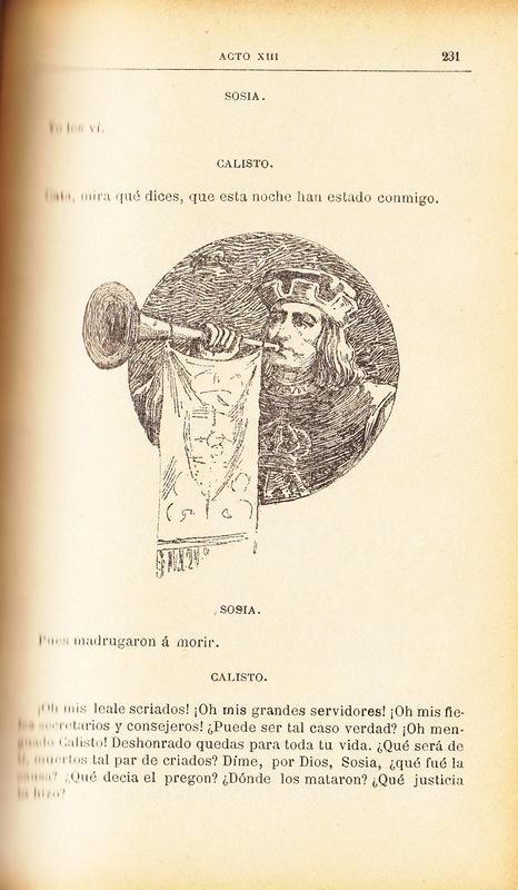 Ilustración primera del acto XIII de la edición de Barcelona (1883)