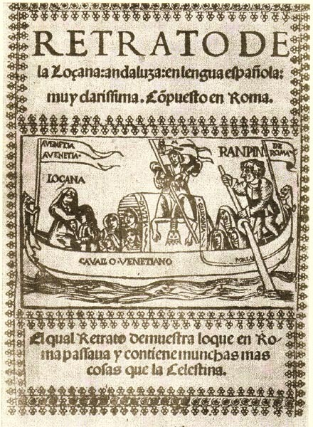 Portada de La Lozana Andaluza, 1528