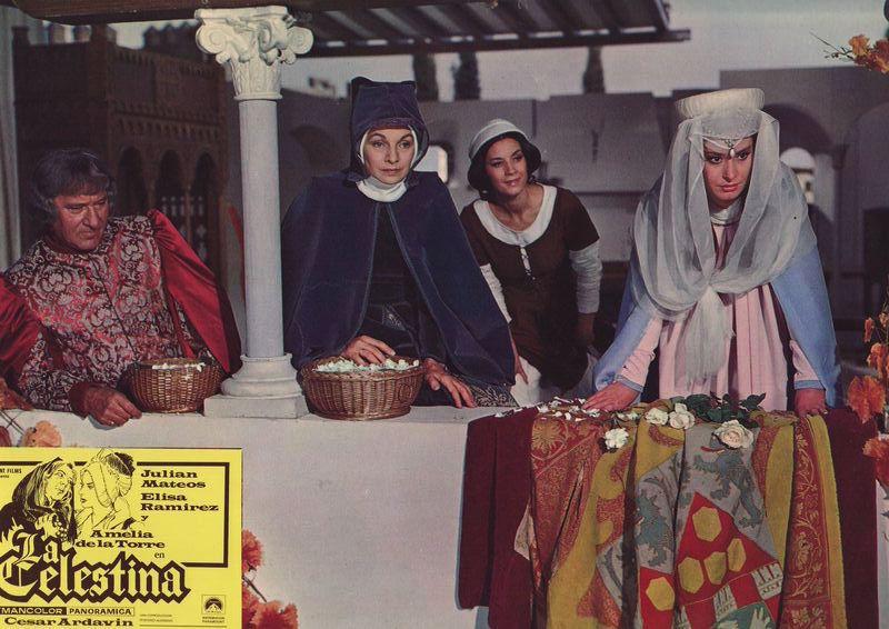 Fotocromo 5 de la película La Celestina de Ardavín