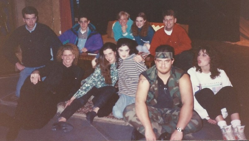 Shades of Green, Laramie, Wyoming (1993),, elenco