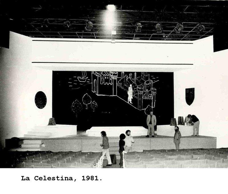 Representación del Teatro Giardina della Biennale Venecia, 1981