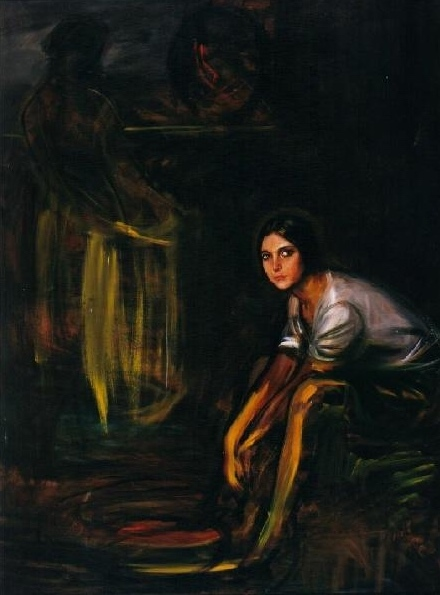 Composición con la chiquita piconera de, Romero de Torres (1929)