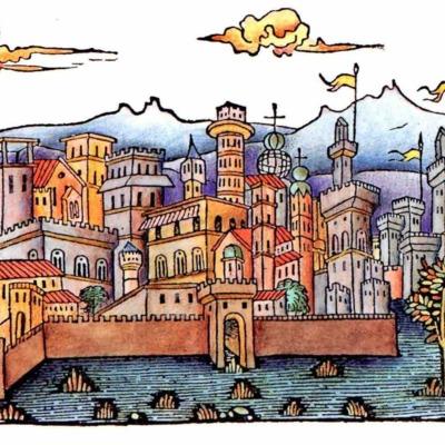 Segunda ilustración del acto XV de la edición de Madrid, 2005