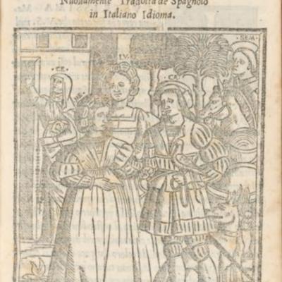 Portada de Venecia, 1543
