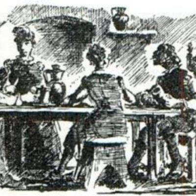 Ilustración del acto IX de la edición de París (1989)