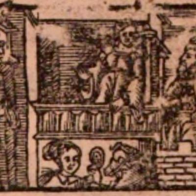 Imagen primera de la portada de la edición de Salamanca (1590)