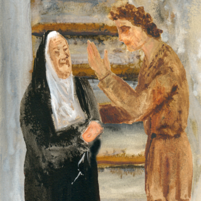 Celestina y Pármeno, de Acedo (2008 c.)